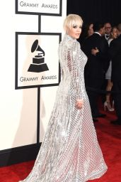 Rita Ora – 2015 Grammy Awards in Los Angeles