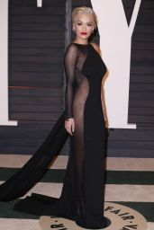 Rita Ora - 2015 Vanity Fair Oscar Party in Hollywood
