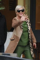 Rita Ora Fashion - Out in London, February 2015