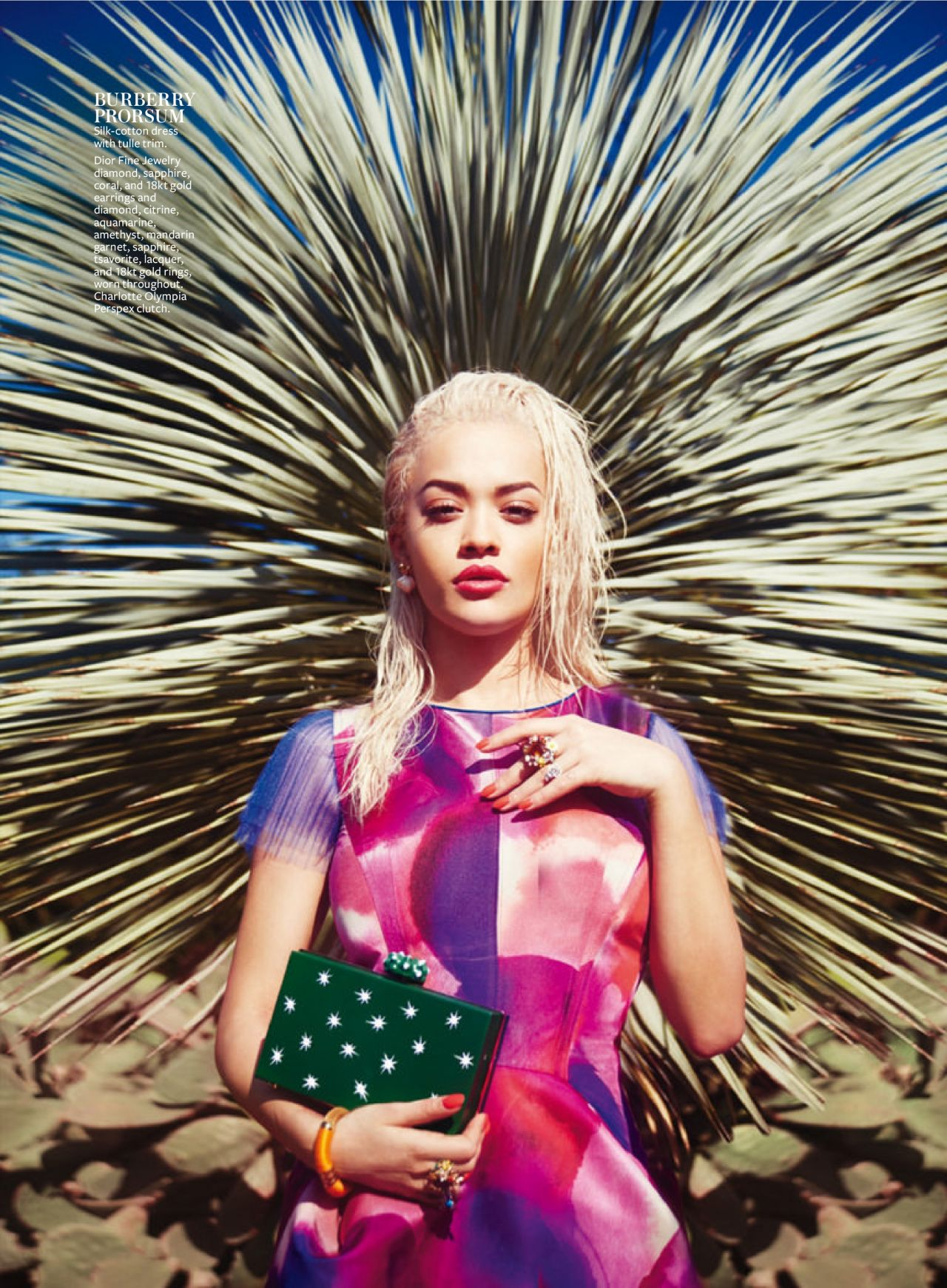 Rita Ora - InStyle Magazine (USA) March 2015 Issue