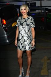 Rita Ora Night Out Style - The London TV Studios, February 2015
