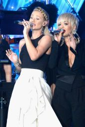 Rita Ora Performs at Pre-GRAMMY 2015 Gala and Salute To Industry Icons in Beverly Hills