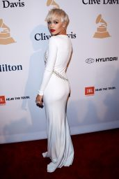 Rita Ora – Pre-GRAMMY 2015 Gala and Salute To Industry Icons in Los Angeles