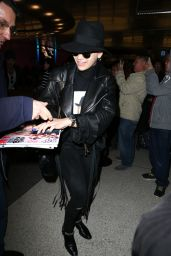 Rita Ora Style - at LAX Airport in Los Angeles, Febraury 2015