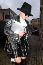 Rita Ora Style - Out in London, February 2015