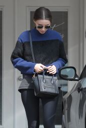 Rooney Mara - Leaving a Gym in Los Angeles, February 2015