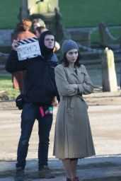 Rooney Mara - On Set of