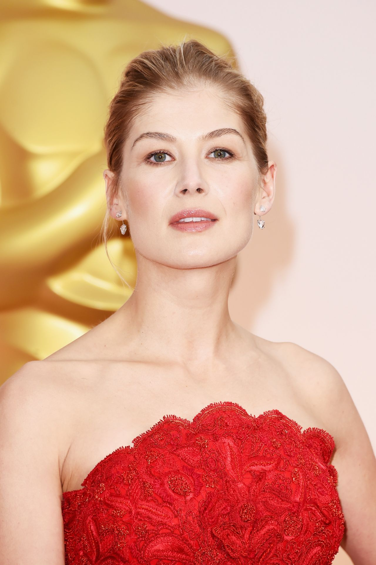 Rosamund Pike 2015 Oscars Red Carpet In Hollywood