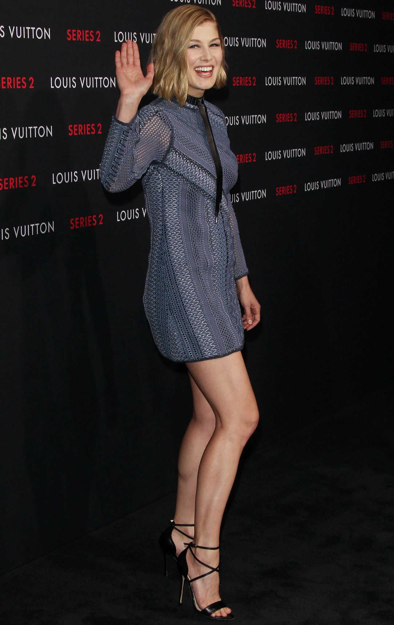 Palm Springs Ford >> Rosamund Pike - Louis Vuitton 'Series 2' The Exhibition in Hollywood