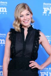 Rosamund Pike - Virtuosos Award at the 30th Santa Barbara International Film Festival