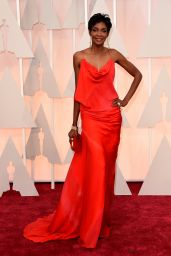 Roshumba Williams – 2015 Oscars Red Carpet in Hollywood