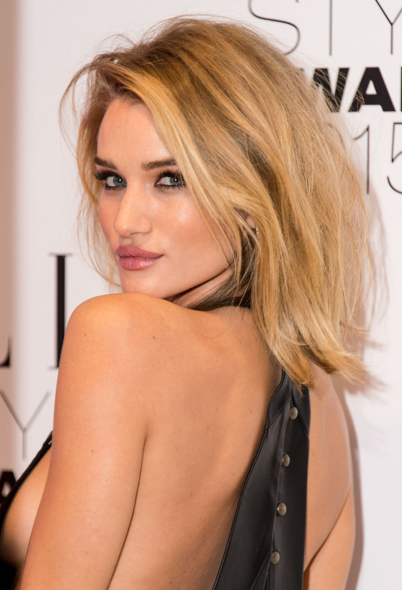 Rosie Huntington Whiteley 2015 Elle Style Awards In London