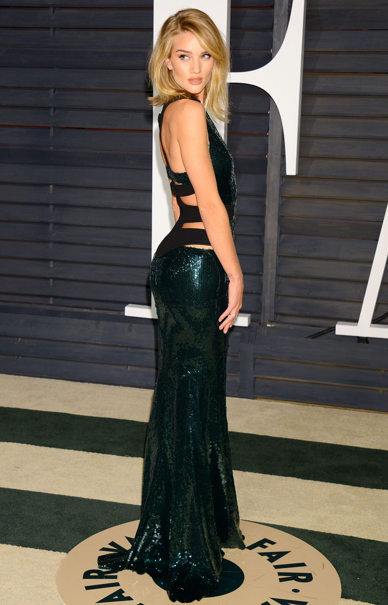 Rosie Huntington-Whiteley - 2015 Vanity Fair Oscar Party in Hollywood Rosie Huntington Whiteley