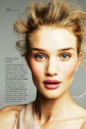 Rosie Huntington-Whiteley - Glamour Magazine (UK) March 2015 Issue