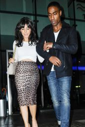 Roxanne Pallett Night Out Style - at Neighbourhood Club in Manchester, Jan. 2015
