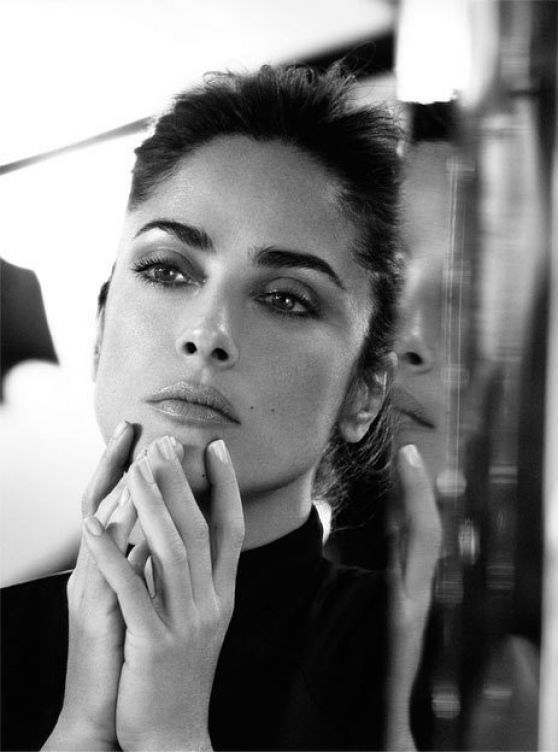 Salma Hayek - The Edit Magazine February 2015 Issue