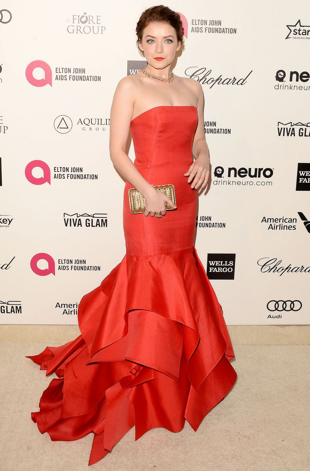 Sarah Bolger - 2015 Elton John AIDS Foundation Academy Awards Viewing Party in Los Angeles