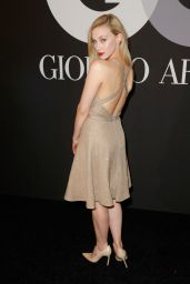 Sarah Gadon – GQ and Giorgio Armani Grammy 2015 After Party in Hollywood