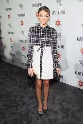 Sarah Hyland – Vanity Fair and FIAT celebration of Young Hollywood in Los Angeles, February 2015
