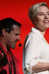 Scarlett Johansson - 2015 Academy Awards Rehearsal in Hollywood