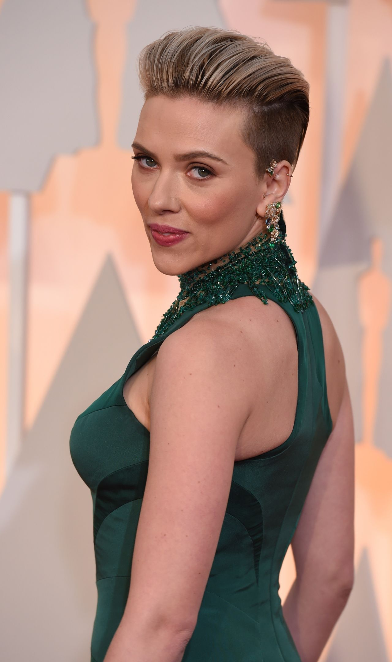 Scarlett Johansson – 2015 Oscars Red Carpet in Hollywood Scarlett Johansson