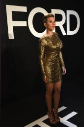 Scarlett Johansson - Tom Ford Autumn/Winter 2015 Womenswear Collection Presentation in Los Angeles