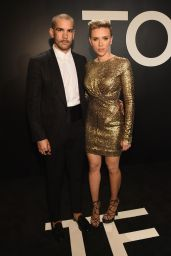 Scarlett Johansson - Tom Ford Autumn/Winter 2015 Womenswear Collection Presentation in Los Angeles