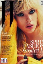 Scarlett Johansson - W Magazine March 2015 Issue