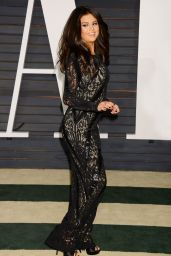 Selena Gomez - 2015 Vanity Fair Oscar Party in Hollywood