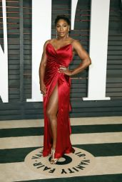 Serena Williams - 2015 Vanity Fair Oscar Party in Hollywood