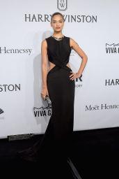 Shanina Shaik – 2015 amfAR New York Gala