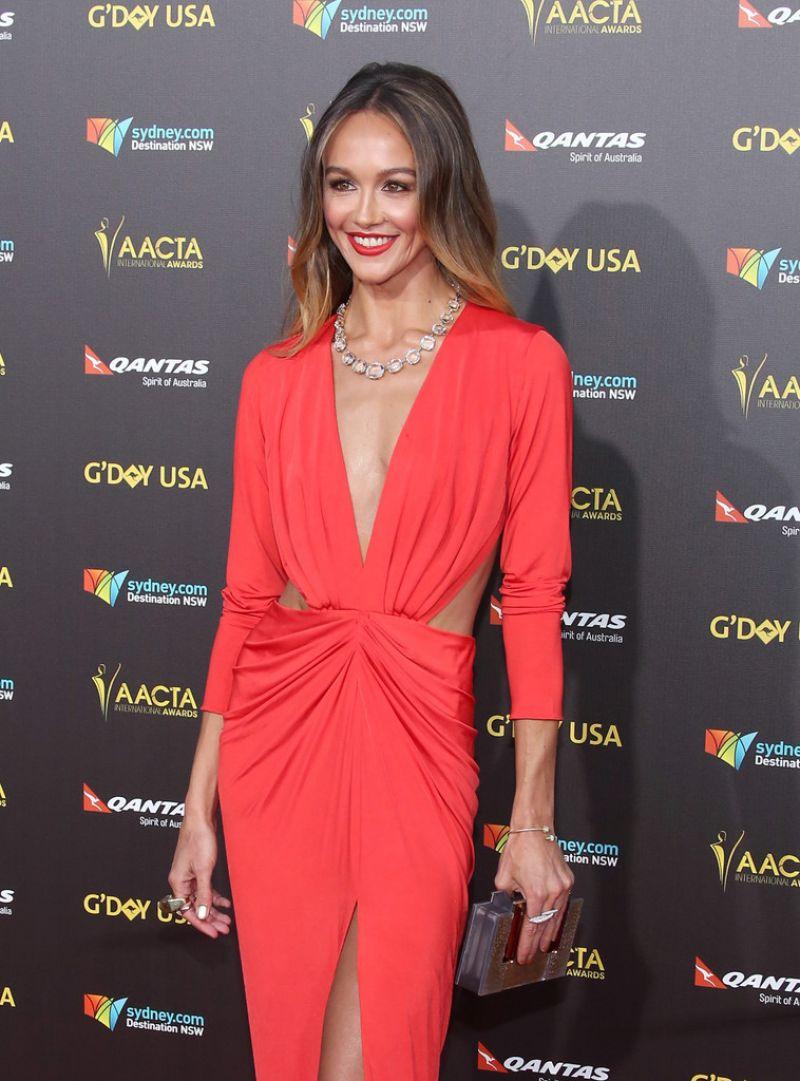 Sharni Vinson G Day Usa Gala Aacta International Awards