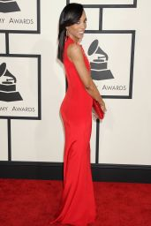 Shaun Robinson – 2015 Grammy Awards in Los Angeles