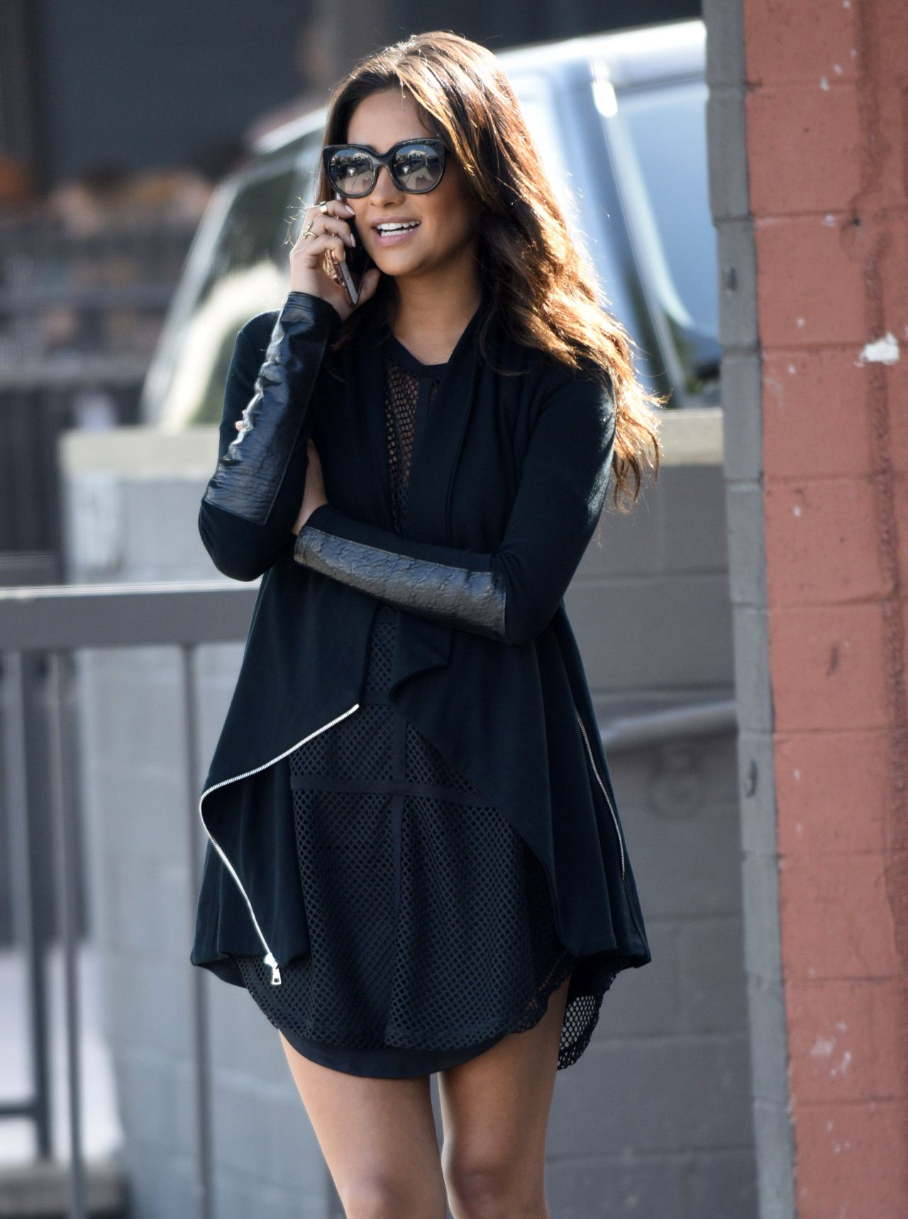 Shay Mitchell Style - Out in Los Angeles, February 2015
