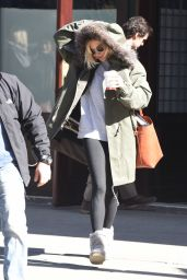 Sienna Miller - Out in New York City, February 2015