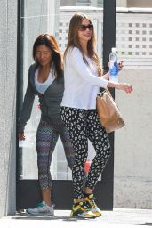 Sofía Vergara in Leggings - Out in West Hollywood, February 2015