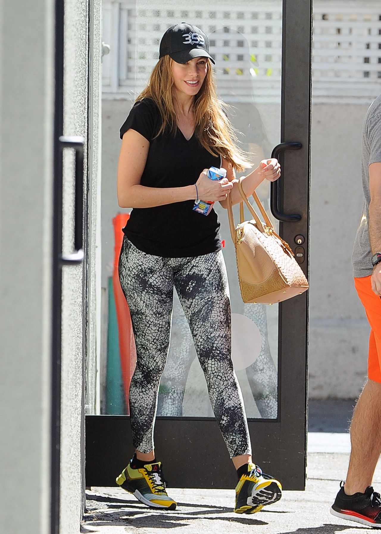 Sofía Vergara - Leaving a Gym in Los Angeles, Feb. 2015