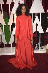 Solange Knowles – 2015 Oscars Red Carpet in Hollywood