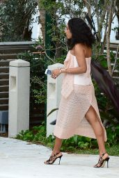Solange Knowles - Veuve Clicquot Carnaval Event in Miami, February 2015