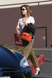 Sophia Bush Street Style - Out in Los Angeles, Feb. 2015