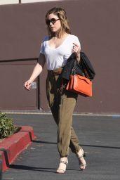 Sophia Bush Street Style - Out in Los Angeles, Feb. 2015