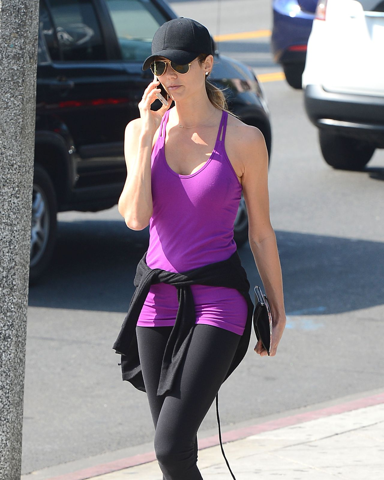 Stacy Keibler - Out in Los Angeles, February 2015