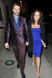 Stephanie Waring Night Out Style – at The Amanzi Restaurant in Liverpool, Jan. 2015