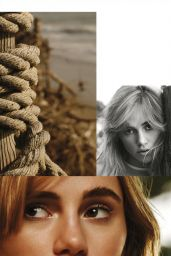 Suki Waterhouse - InStyle Magazine (US) March 2015 Issue