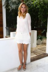 Suki Waterhouse Leggy - Event in Sao Paulo, February 2015