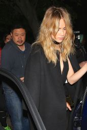 Suki Waterhouse Night Out Style - Leaving a Party at No Vacancy in Hollywood