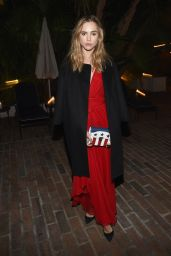Suki Waterhouse - Vaniti Fair & Barneys New York Dinner Benefiting OXFAM in Los Angeles