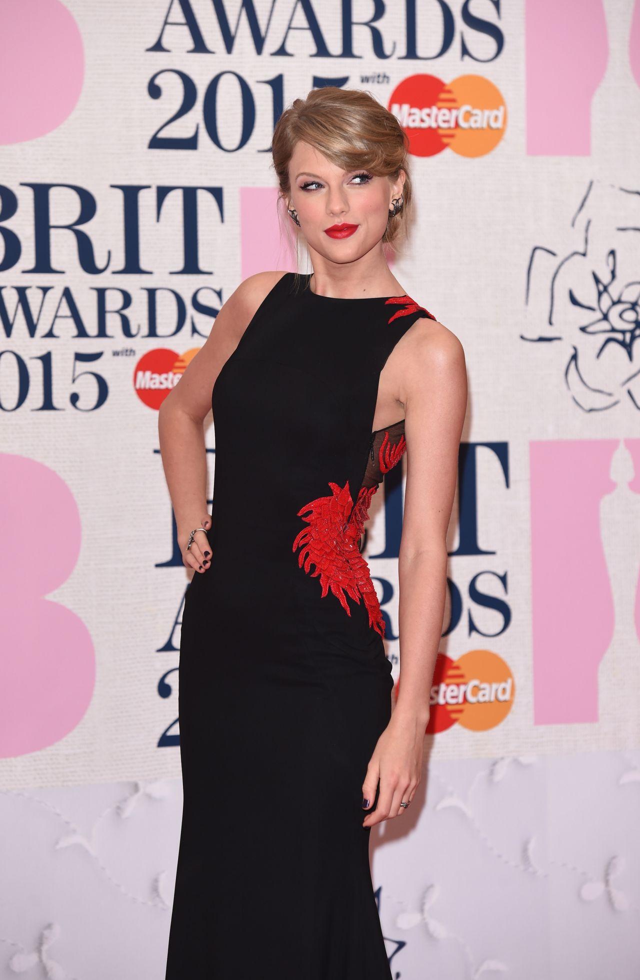 ... Swift – 2015 BRIT Awards in London