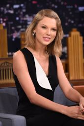 Taylor Swift at The Tonight Show with Jimmy Fallon in New York, February 2015