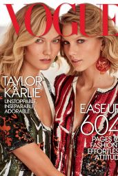 Taylor Swift & Karlie Kloss - Vogue MAgazine March 2015 Issue